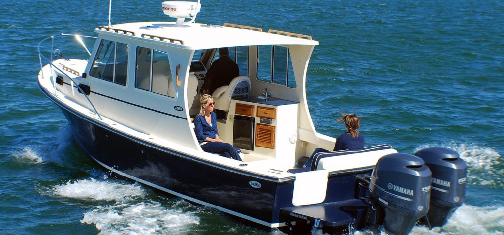 Fishermans boats